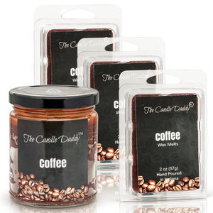Coffee Candle & Wax Melt 4 pack The Candle Daddy